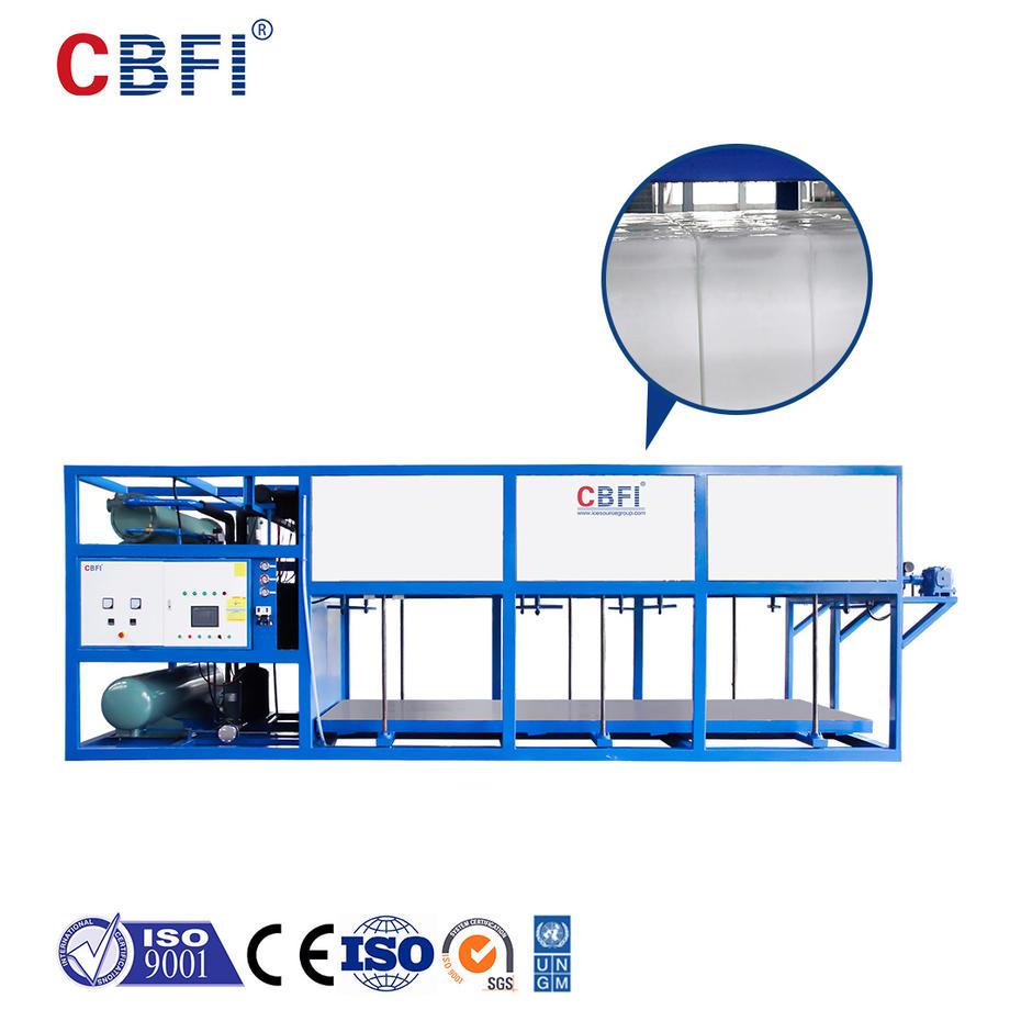 O campo de aplicação da máquina de gelo de bloco de resfriamento direto CBFI