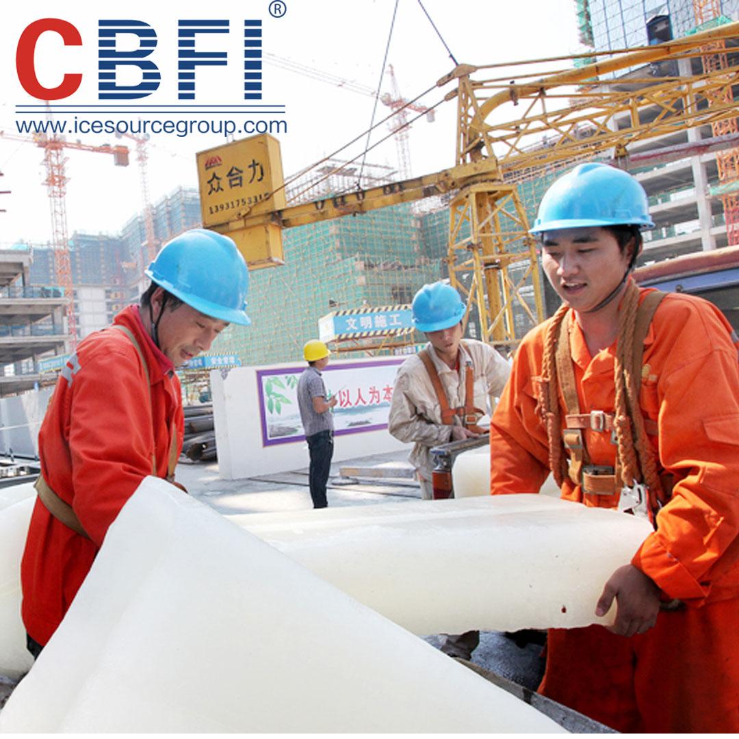news-CBFI-The Application Field of CBFI Direct-cooling Block Ice Machine-img
