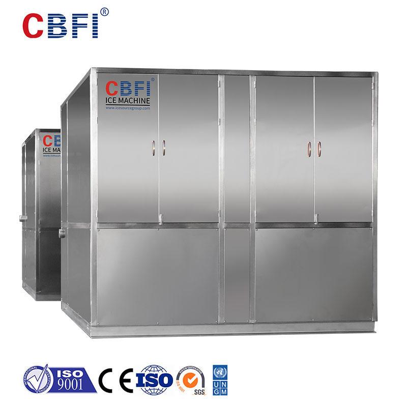 ماكينة صنع ألواح الثلج CBFI® HYF400 بسعة 40 طن في اليوم