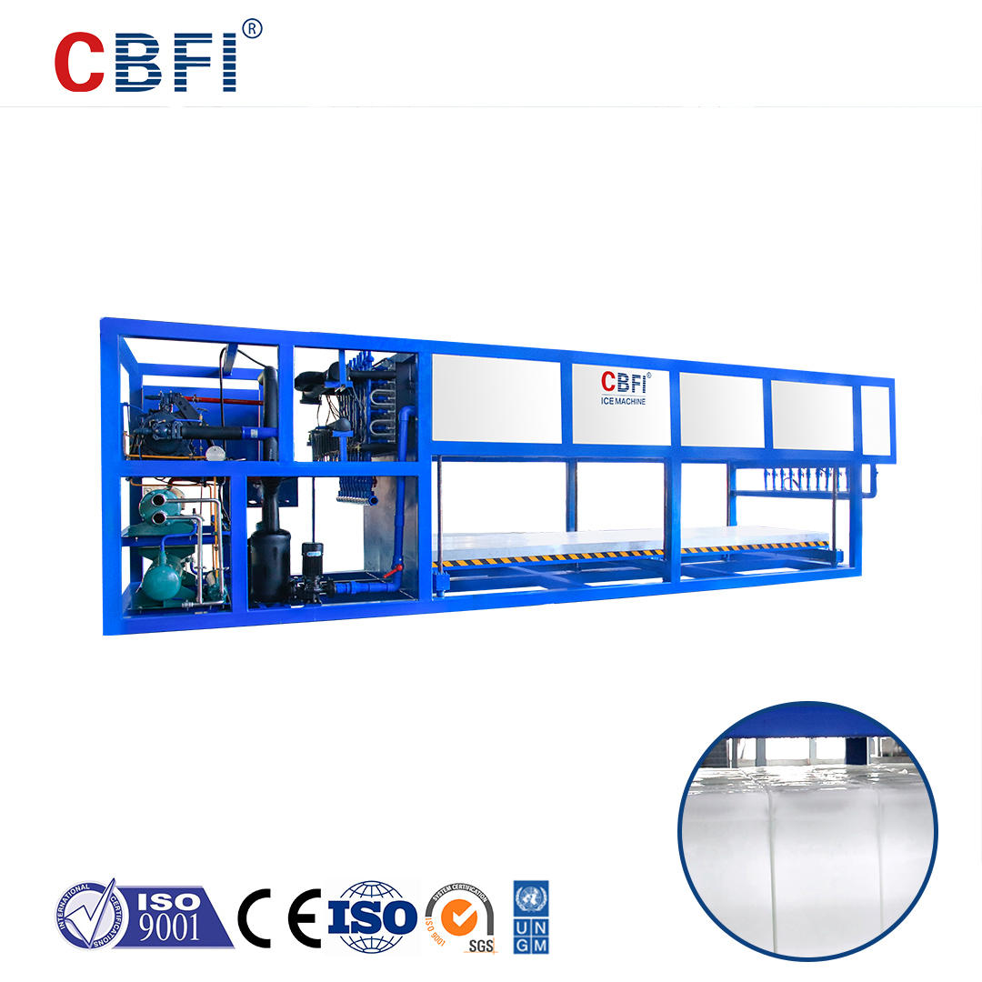 CBFI ABI100 10 Tons Per Day Direct Cooling Block Ice Machine