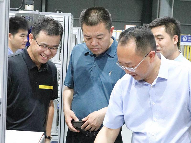 5月1日,中情局与贵州省领导进行了交流调研