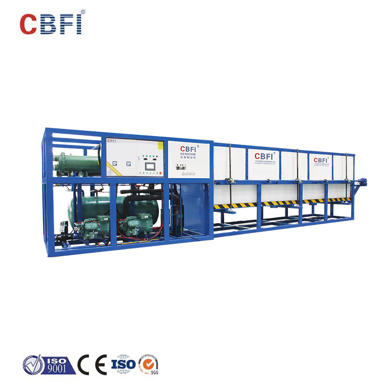 CBFI-ice block making machine turkey | Direct Cooling Block Ice Machine | CBFI