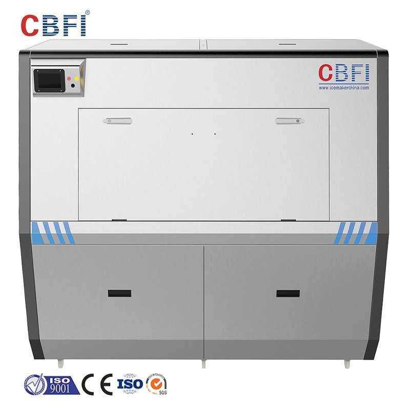 CBFI large capacity Pure Ice Machine certifications for ice sculpture shaping