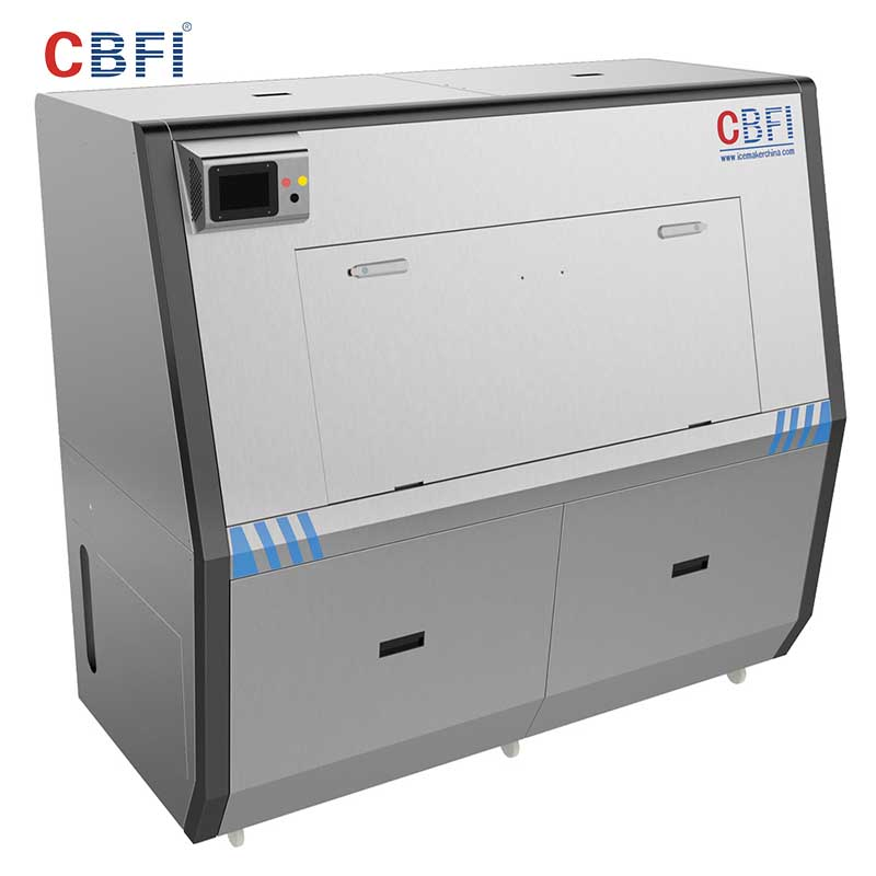 CBFI large capacity Pure Ice Machine certifications for ice sculpture shaping-5