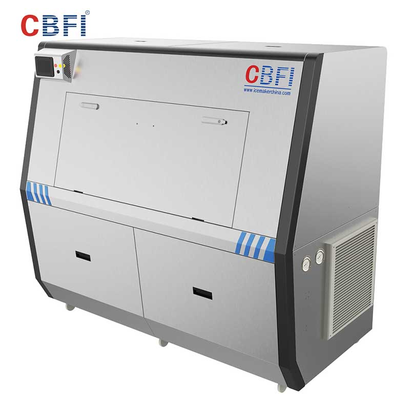 CBFI large capacity Pure Ice Machine certifications for ice sculpture shaping-6
