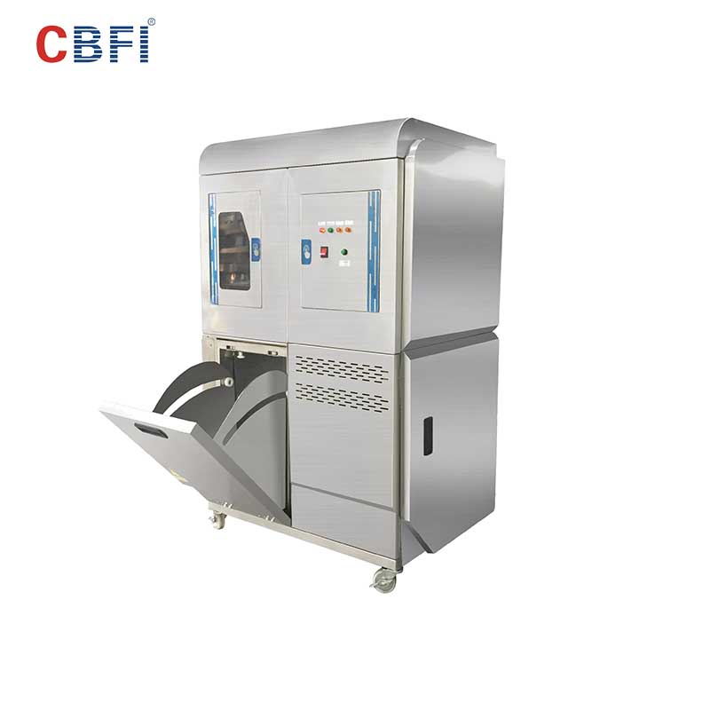 CBFI high-perfomance clear ice machine overseas market for aquatic goods-5