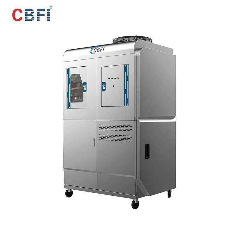 CBFI high-perfomance clear ice machine overseas market for aquatic goods