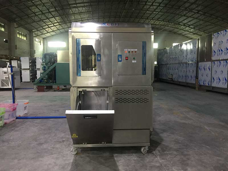 high-quality Edible Flake Ice Machine ice for aquatic goods-8
