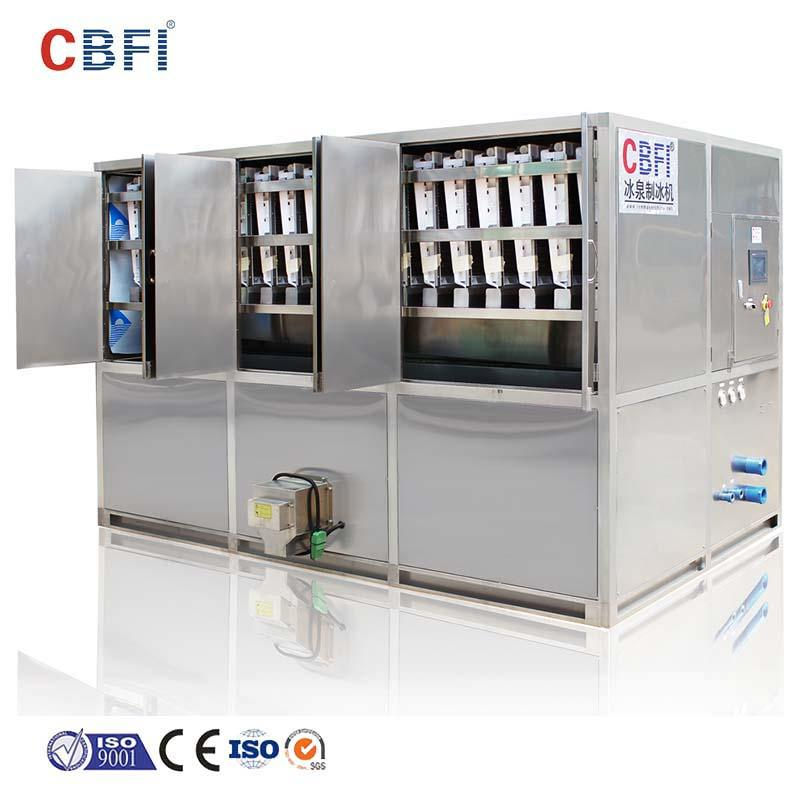 CBFI durable plate ice machine in china for brandy
