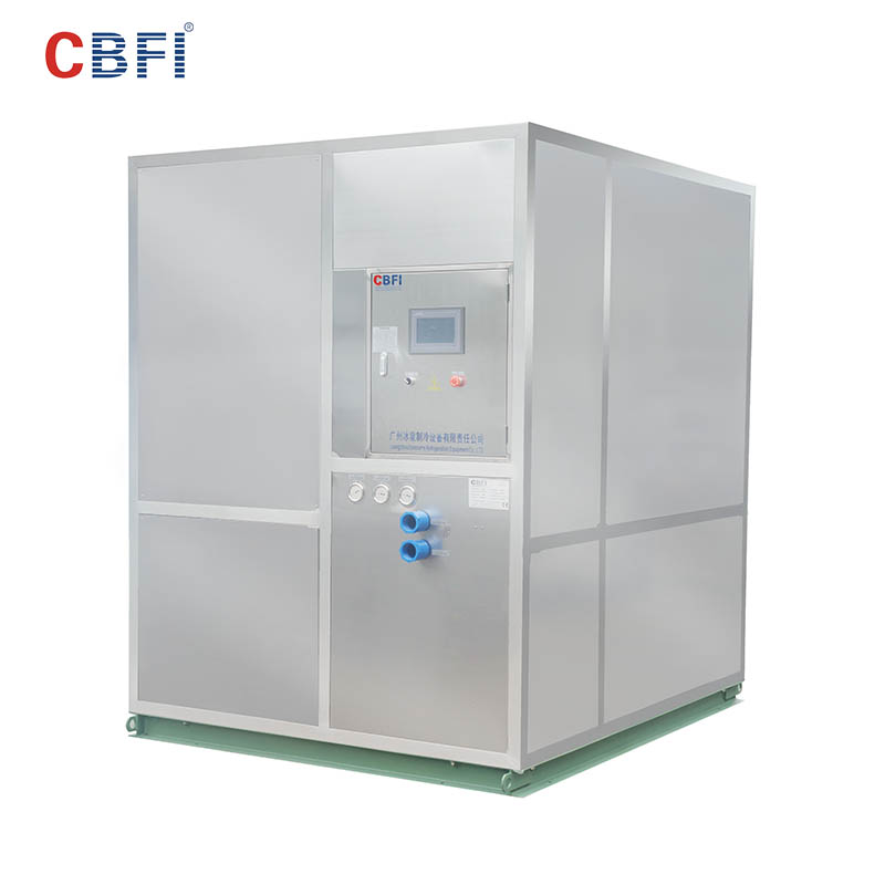 CBFI 5 ton ice machine in china for ball ice making-5
