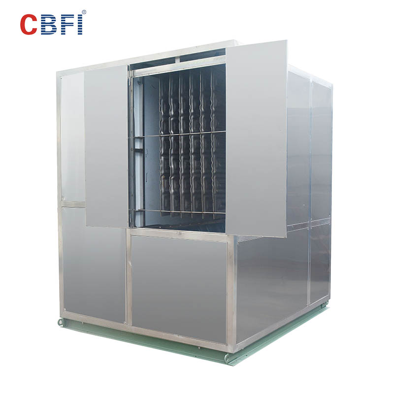CBFI 5 ton ice machine in china for ball ice making-6