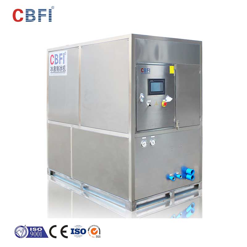 CBFI 5 ton ice machine in china for ball ice making-10