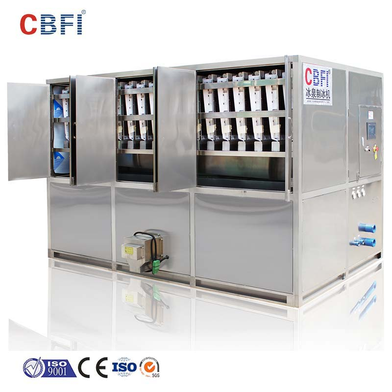 CBFI 5 ton ice machine in china for ball ice making-11