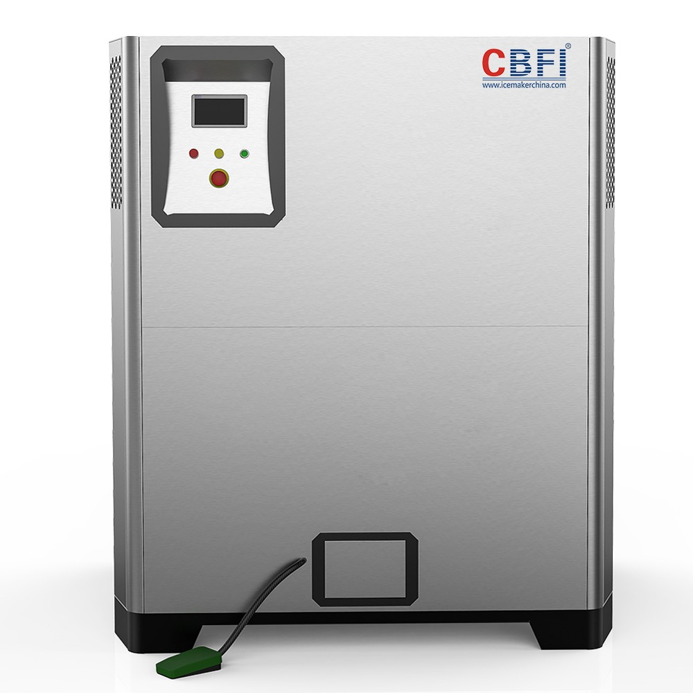 CBFI CI01 1 Ton Per Day Nugget Ice Machine For Cold Drinks-5