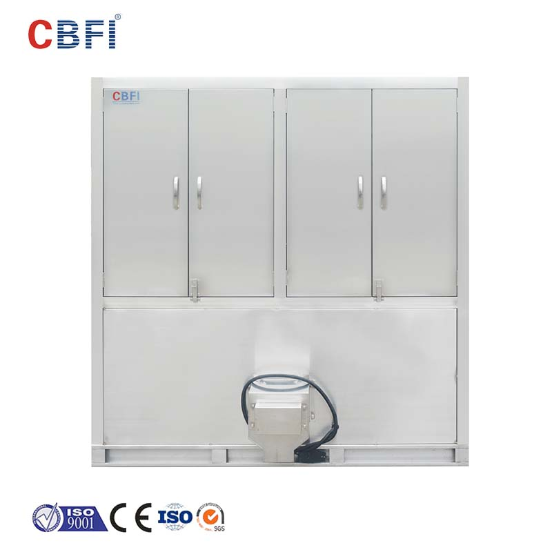 CBFI widely used cube ice machine free design for vegetable storage-10