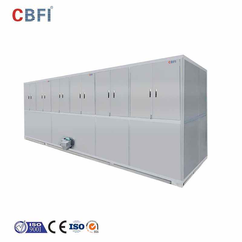 CBFI widely used cube ice machine free design for vegetable storage-11