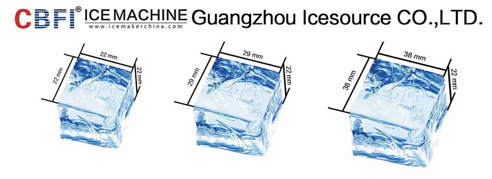 CBFI plant large ice cube machine order now for freezing-5