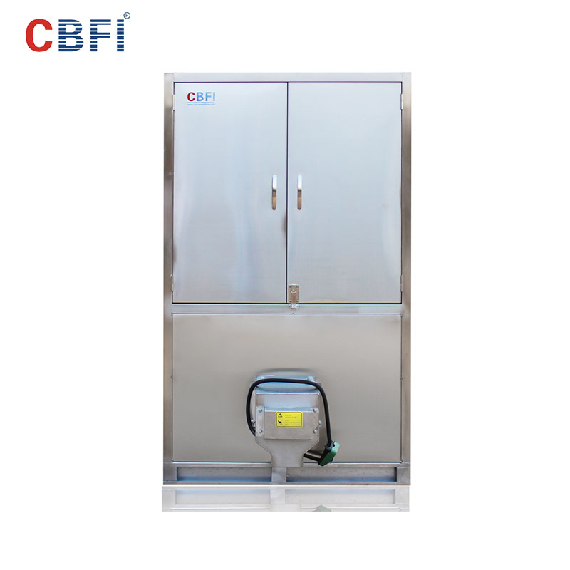 CBFI large industrial ice cube machine newly for vegetable storage-9