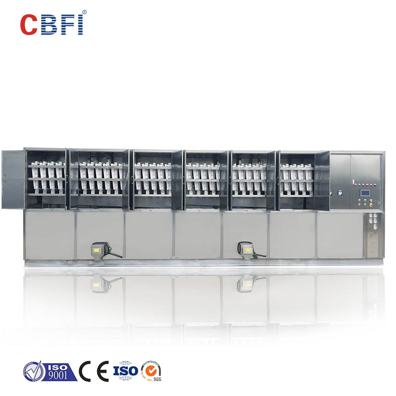 CBFI plant large ice cube machine order now for freezing-11