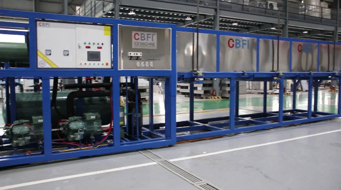 CBFI New generation automatic block ice machine