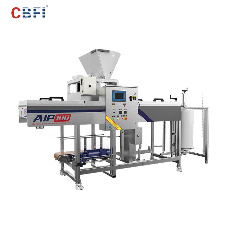 CBFI AIP Specs Automatic Ice Packing Machine For Large Ice Plants
