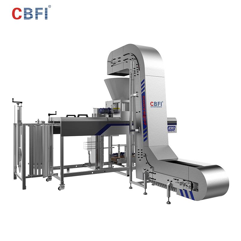 CBFI-ice packaging machine | Automatic Packing Ice Machine | CBFI-1