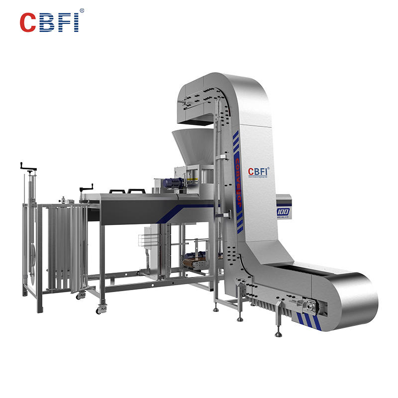 CBFI API Specs Automatic Ice Packing Machine For Large Ice Plants