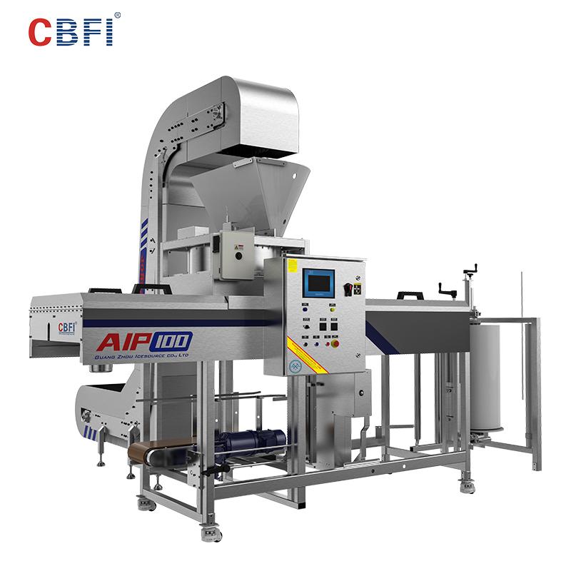 CBFI-ice packaging machine | Automatic Packing Ice Machine | CBFI