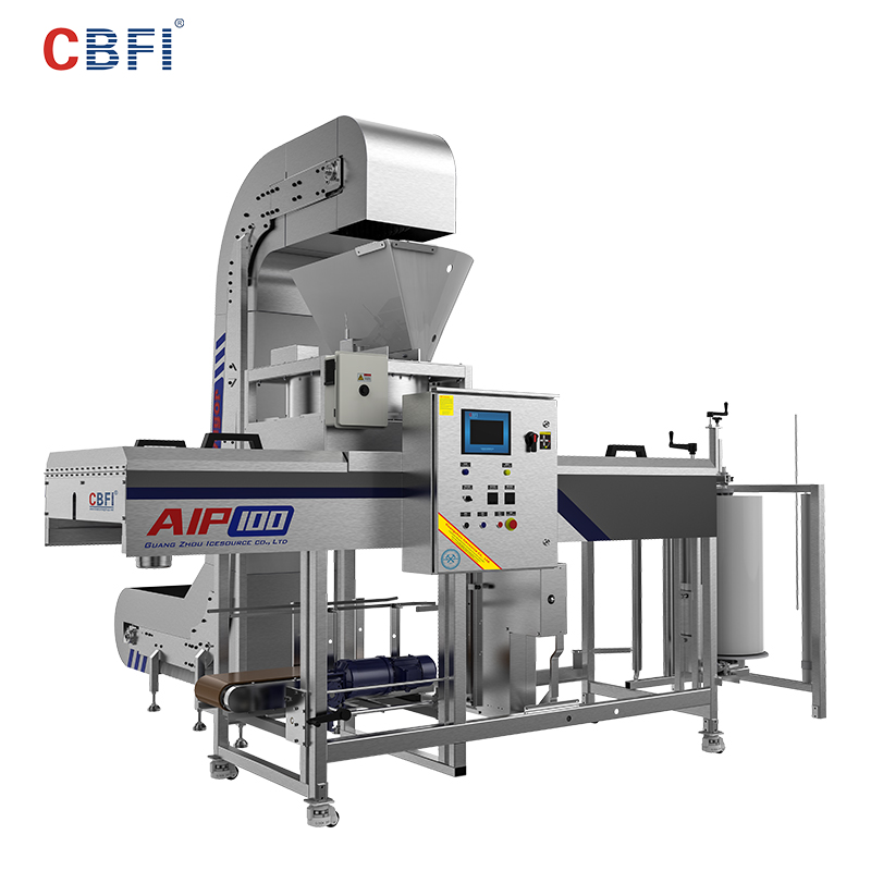 CBFI automatic ice machine plant free quote for ice sphere-1