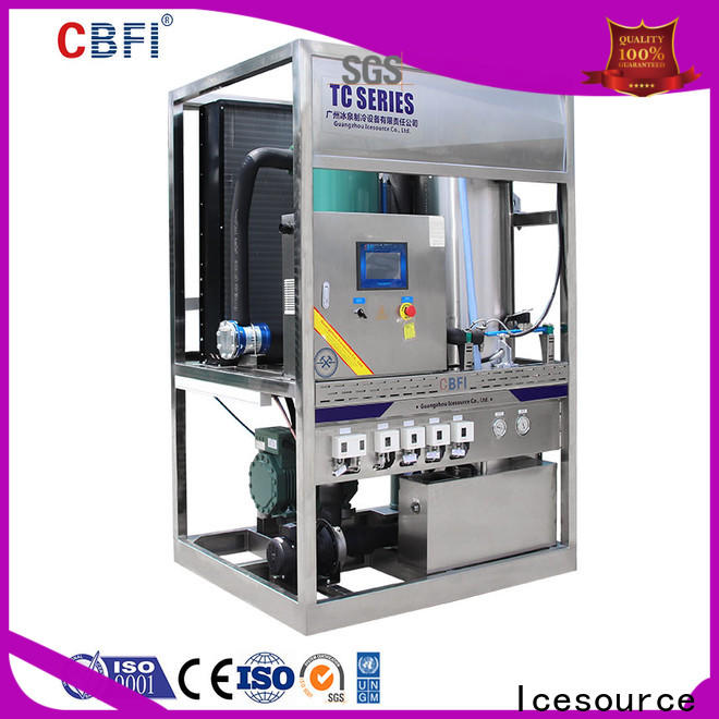 CBFI commercial home ice machine producer for wine cooling
