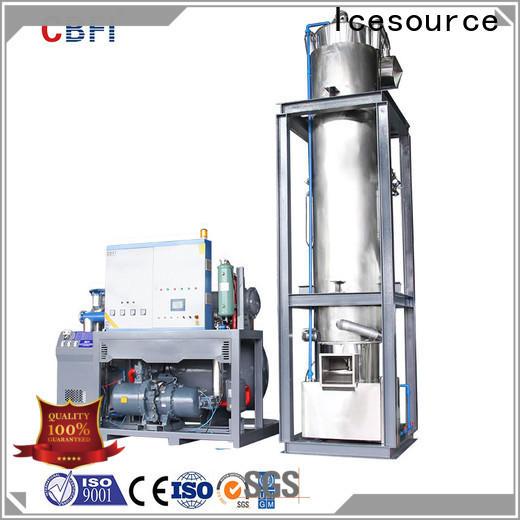 CBFI tube ice machine owner for ice making