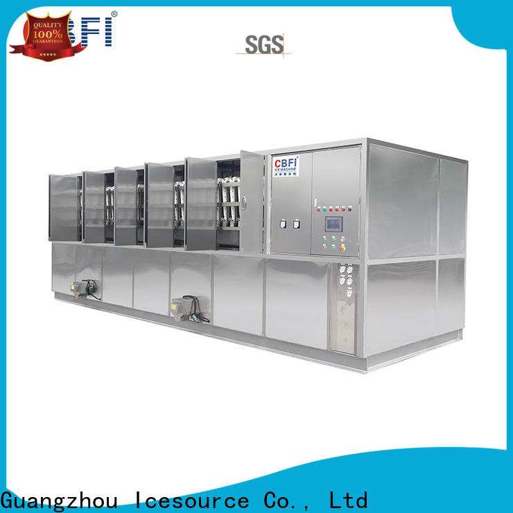 CBFI reliable industrial ice cube machine free design for freezing