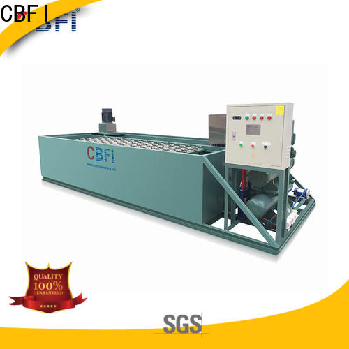 CBFI clean industrial ice maker machine plant for whiskey