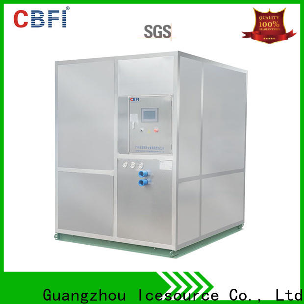CBFI market large ice machine free quote for summer