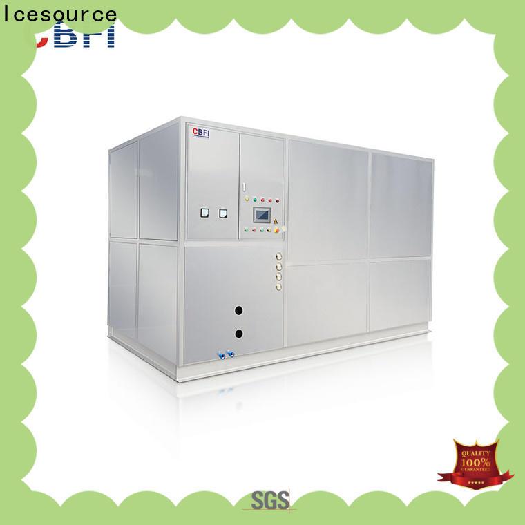 high reputation plate ice machine cbfi type for ice bar