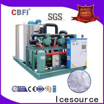 CBFI high-quality flake ice making machine free design for supermarket