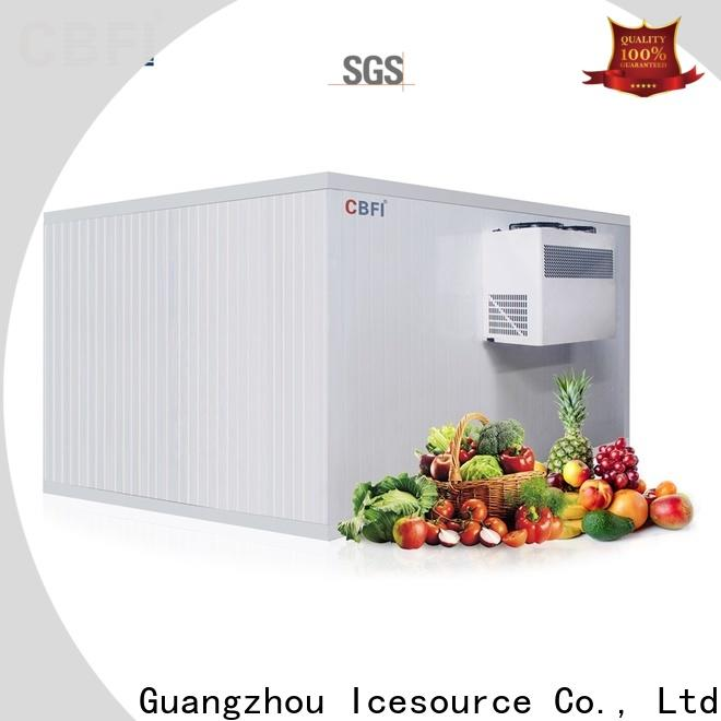 CBFI widely used cold room for fruit and vegetable order now for vegetable storage