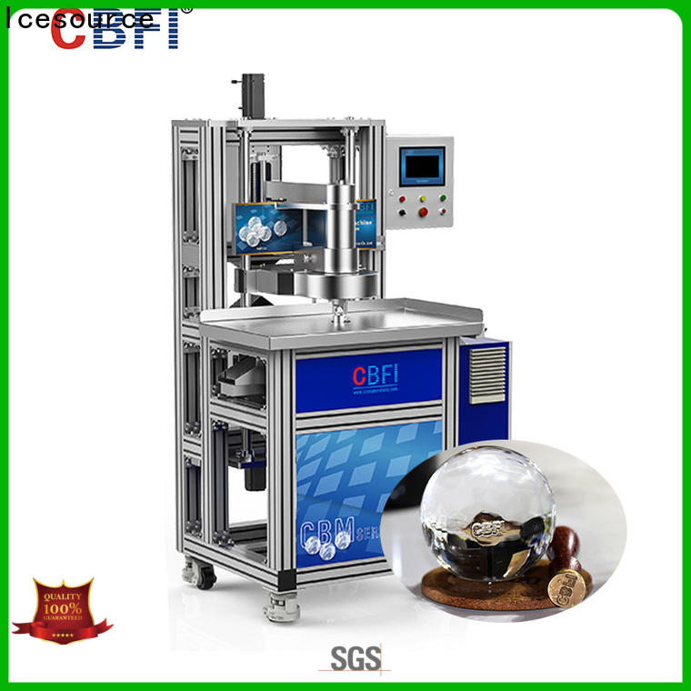 CBFI consumption compact ice maker machine free quote for cocktail