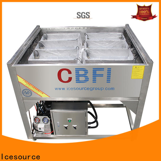 CBFI sculpture ice machine maintenance supplier for wine cooling