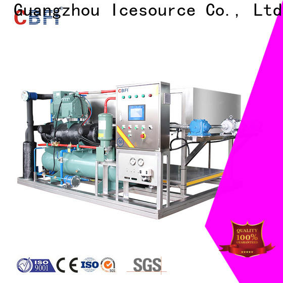 CBFI direct ice maker with drain pump factory price for vegetable storage
