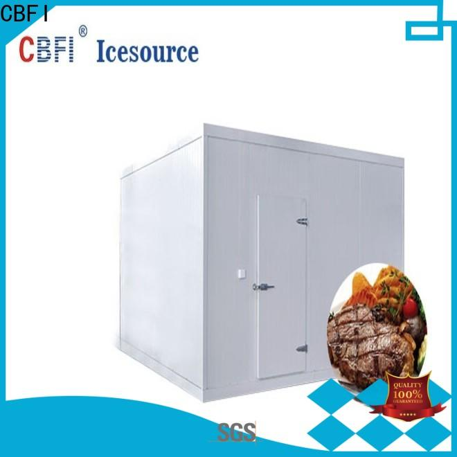 CBFI fish cold storage room free design for vegetable storage