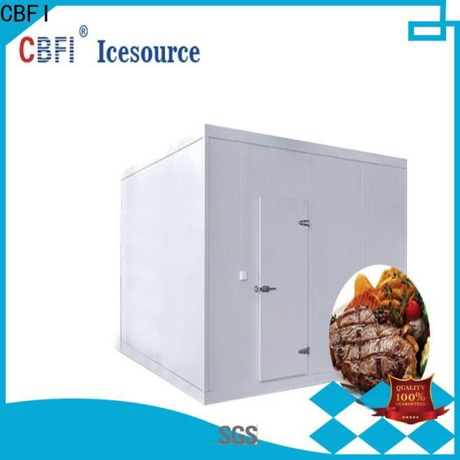 CBFI fish cold storage room free design for vegetable storage
