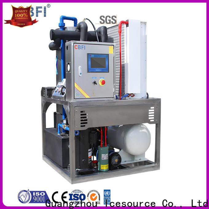 CBFI widely used ice maker manufacturer for aquatic goods