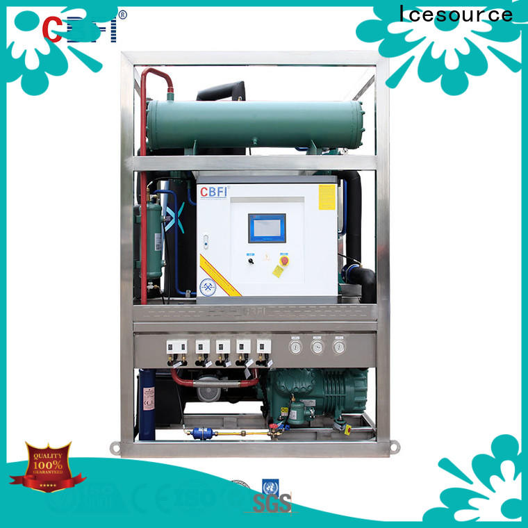 CBFI durable ice maker machine manufacturer for aquatic goods