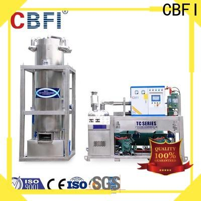CBFI durable ice tube bulk production for aquatic goods