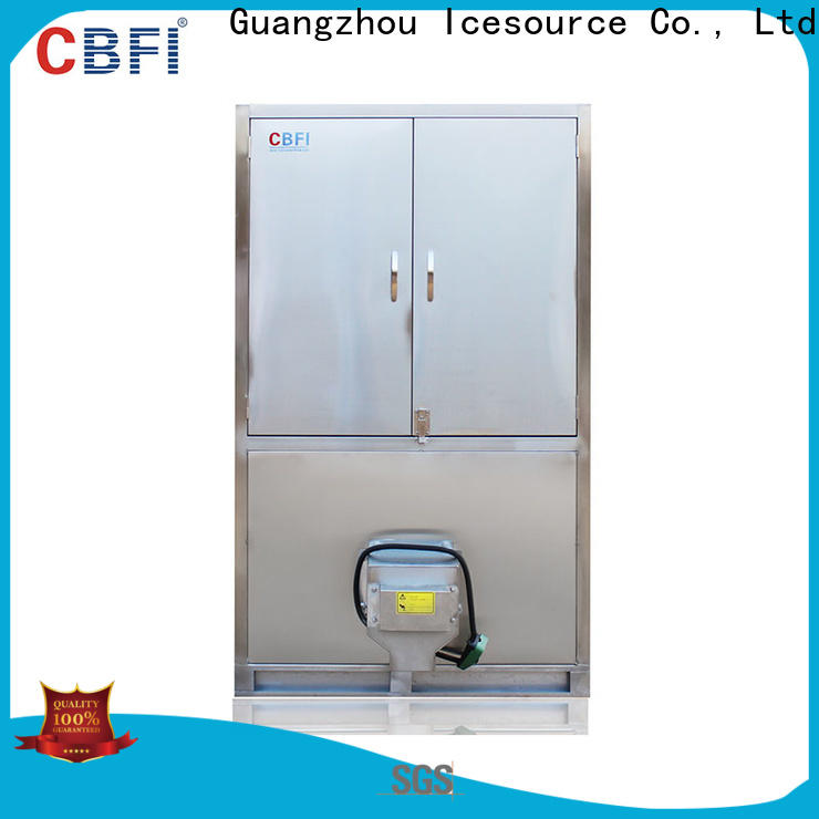 CBFI high-quality cube ice machine customized for vegetable storage