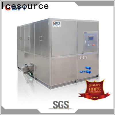 coolest industrial ice cube machine large factory for fruit storage