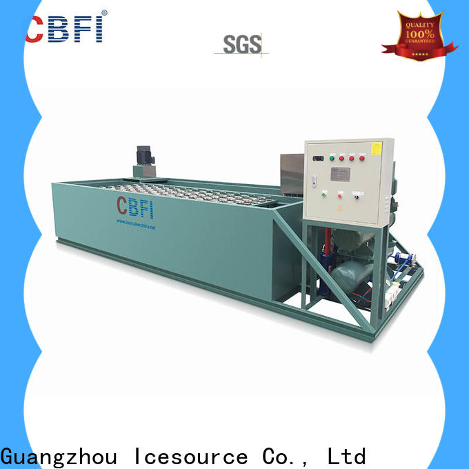 CBFI clear dry ice maker in china for summer