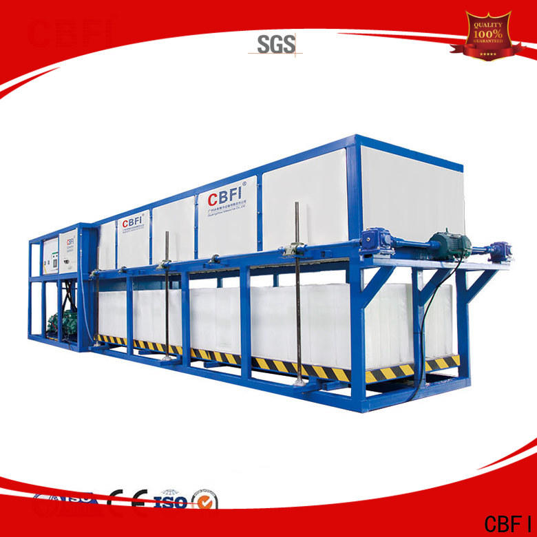 CBFI widely used commercial ice machine reviews factory price for fruit storage
