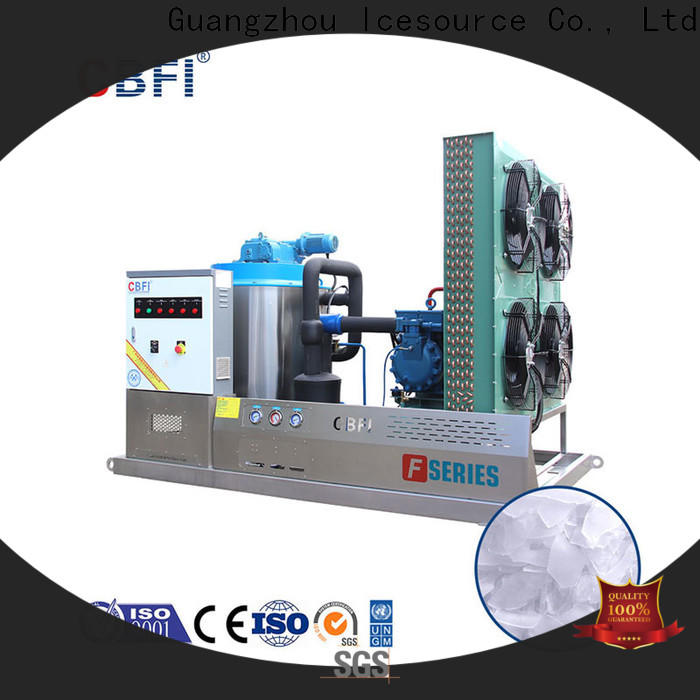 CBFI excellent flake ice maker free design for water pretreatment